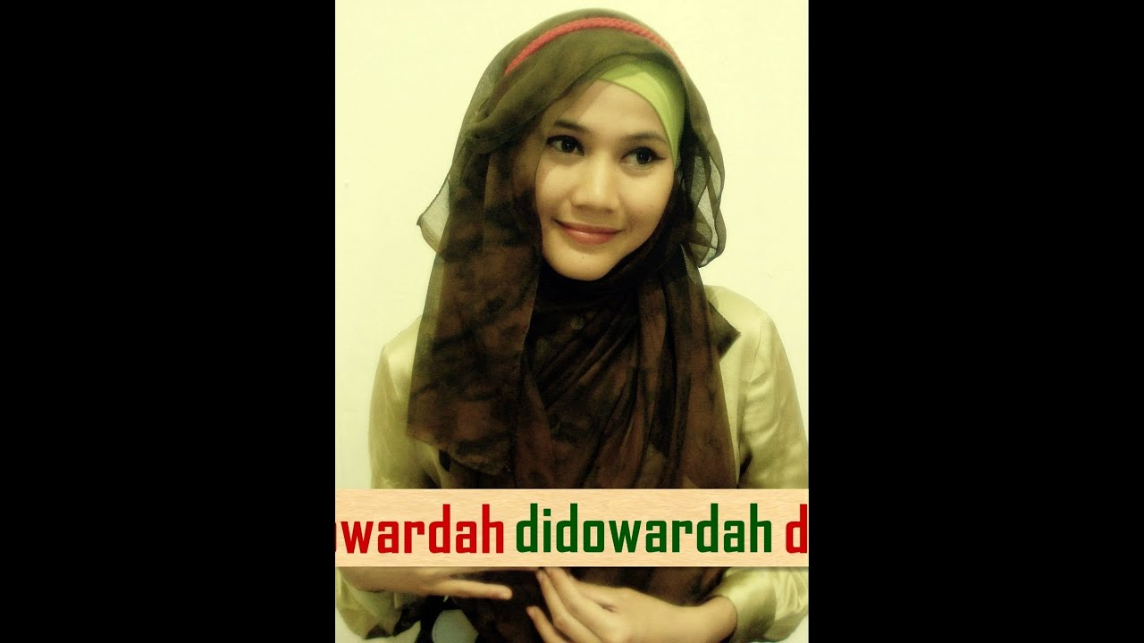 Tutorial Hijab Pesta Dan Wisuda Hijab Paris By Didowardah