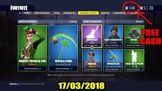 GLITCH como comprar a nova pele livre no FORTNITE-DIMOSTRATIVE VIDEO 17-03-2018