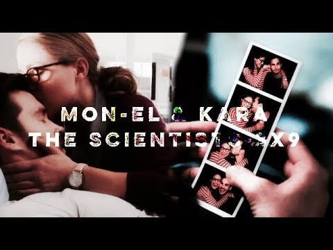 Kara & Mon-el - The scientist (3x9 wake up)