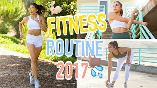 How To Get In Shape! Full Workout Routine + Tips! Fitness Routine 2017