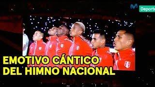 Perú vs. Croacia: así fue el emotivo cántico del himno nacional en el Hard Rock Stadium