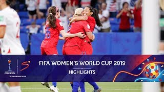 FIFA Women's World Cup | England vs USA | Highlights