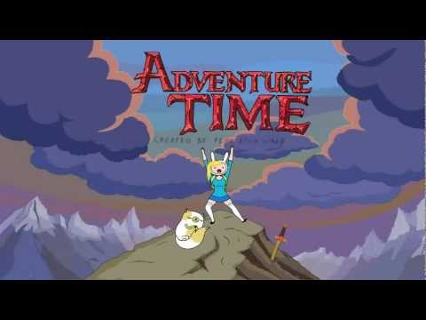 Adventure Time With Fionna And Cake  Intro