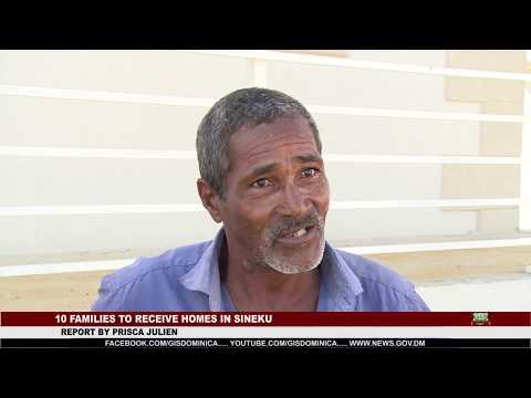 TEN FAMILIES TO RECEIVE NEW HOMES IN SINEKU