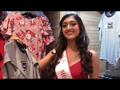 Miss India North 2018 winners at fbb store