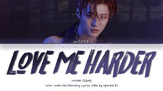 Gambar cover WOODZ (조승연) - 'Love Me Harder (파랗게)' Lyrics (Color Coded_Han_Rom_Eng)