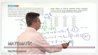 HAREKET PROBLEMLERİ - Şenol Hoca