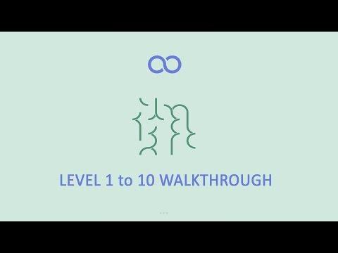 ∞ Loop(Infinity loop) Level 1 to 10 walkthrough