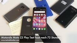 Motorola Moto Z2 Play Test Fazit nach 72 Stunden
