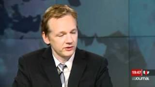"""Julian Assange, de Wikileaks: """"C'est un combat entre moi et Hillary (Clinton)"""""""