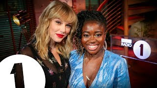 Taylor Swift talks music, politics and life with Radio 1's Clara Amfo