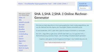 Sha 256 Online