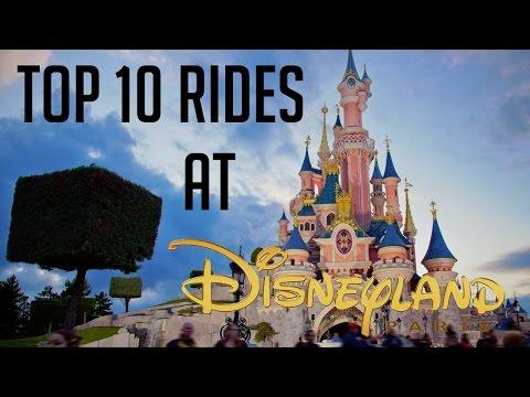 Top 10 Rides At Disneyland Paris