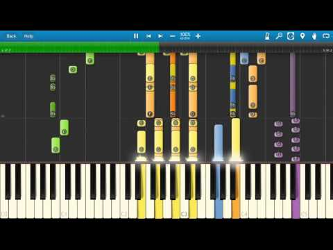 David Bowie Space Oddity Piano Tutorial Synthesia How To