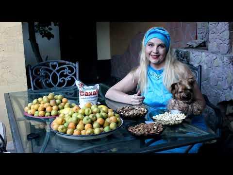 Абрикосовое варенье с орехами👌🌹🌹 💕   Apricot Jam With Nuts