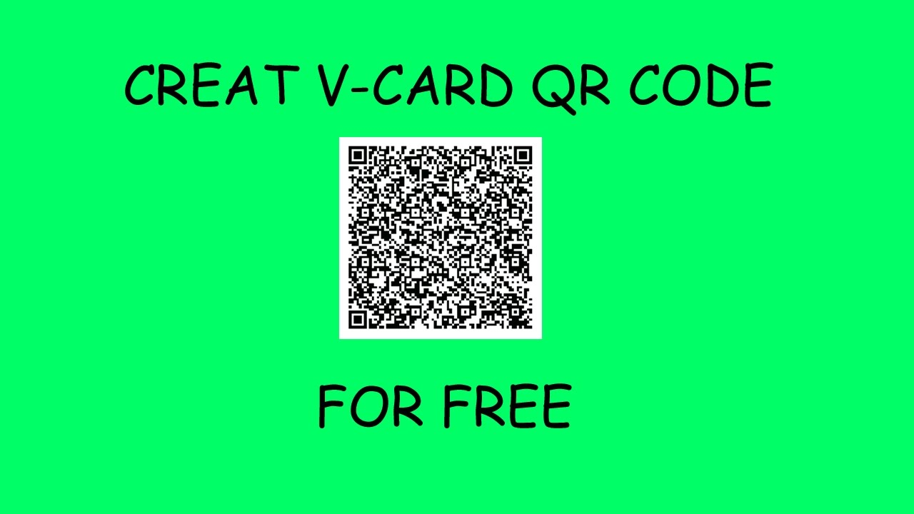 how to make a qr code for free