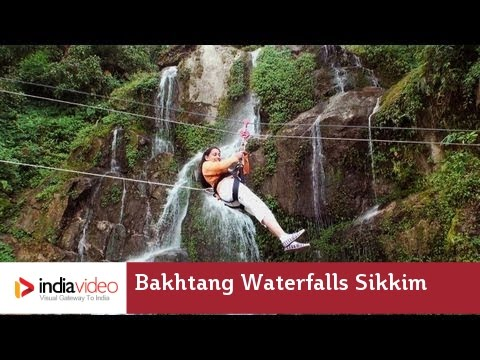 Stunning Sikkim - the Baghthang Waterfalls
