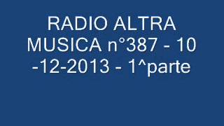 "RADIO ALTRA MUSICA n°387   10 12 2013  ""THE BEATLES""  1^parte"