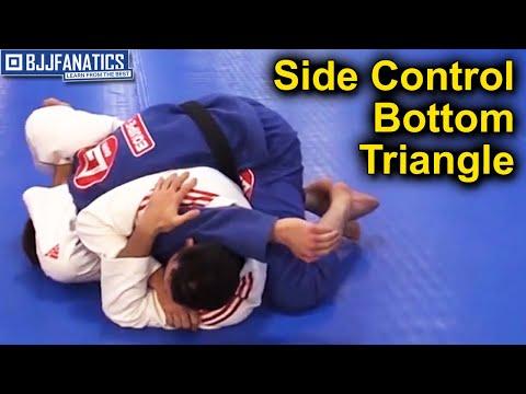 Side Control Bottom Triangle by Braulio Estima