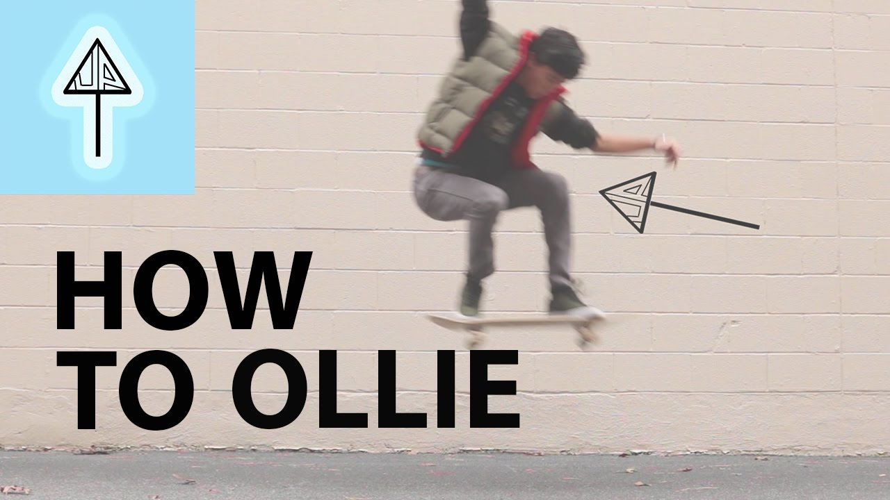 How To Skateboard (part 1: The Ollie)