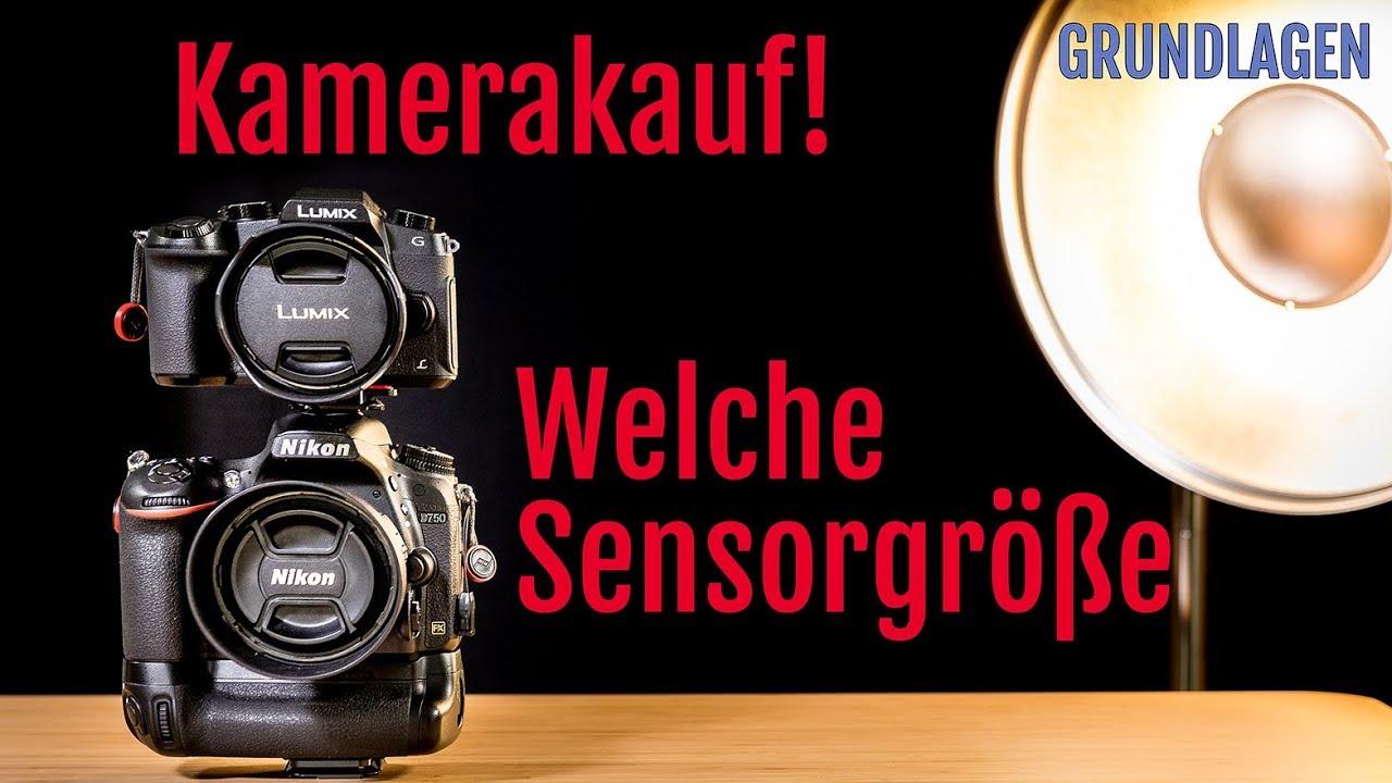 Kamerakauf: Welche Kamera sollst Du kaufen? Welchen Sensor benötigst ...