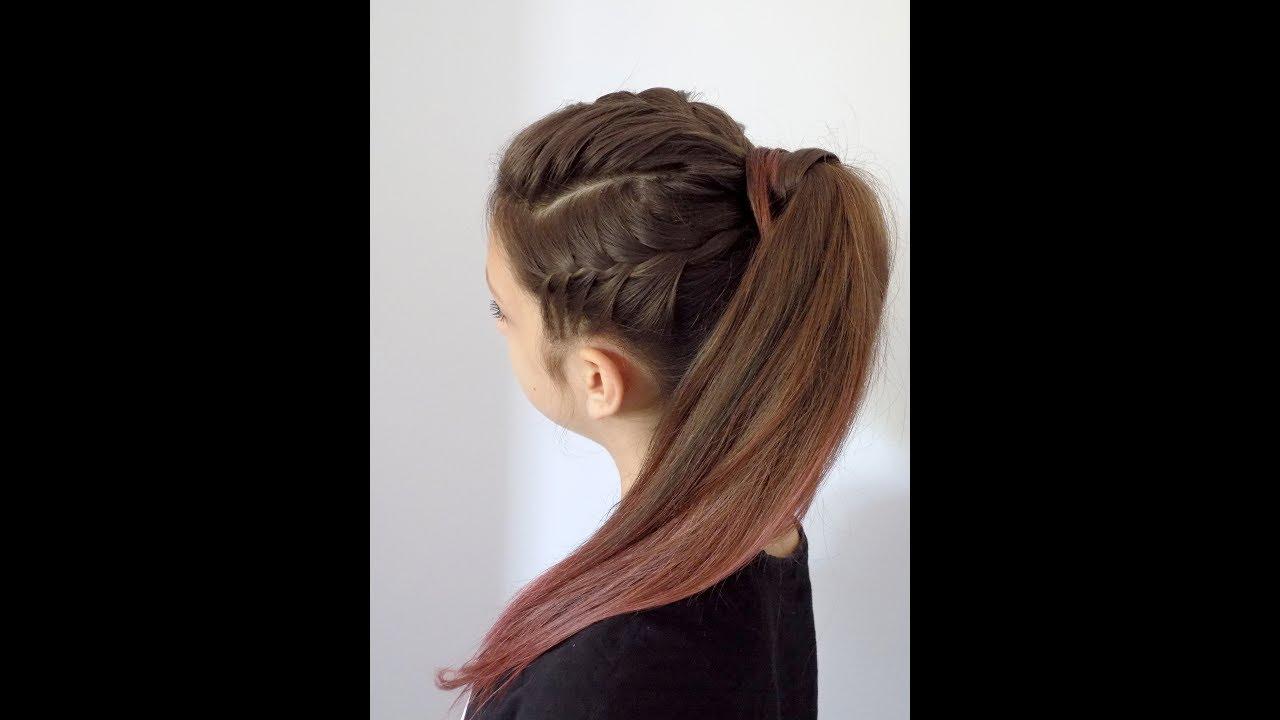 Dwa Warkocze I Kitka Na Każdą Okazję Hairstyles Braid