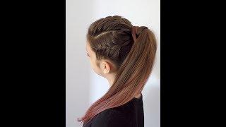 Dwa warkocze i kitka || Na każdą okazję || Hairstyles || Braid