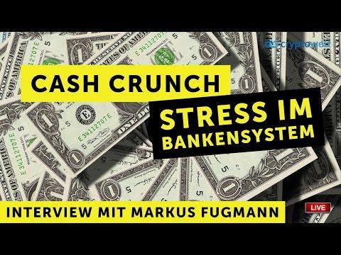 Cash Crunch - Stress im Bankensystem - Interview mit Markus Fugmann