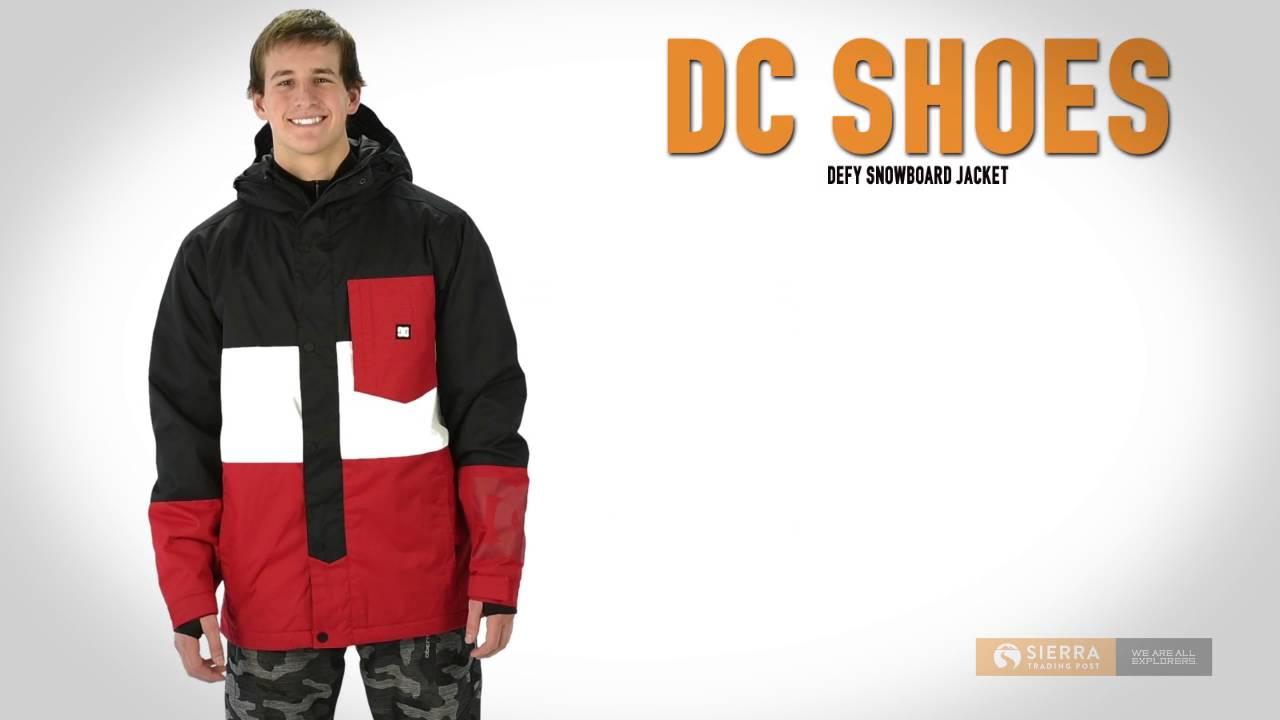 d6ff26943923 DC Shoes Defy Snowboard Jacket - Waterproof