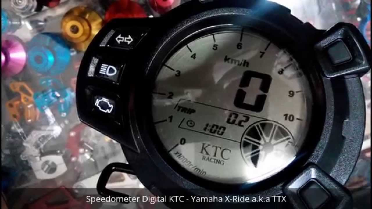Speedometer digital ktc yamaha x ride aka ttx youtube asfbconference2016 Image collections