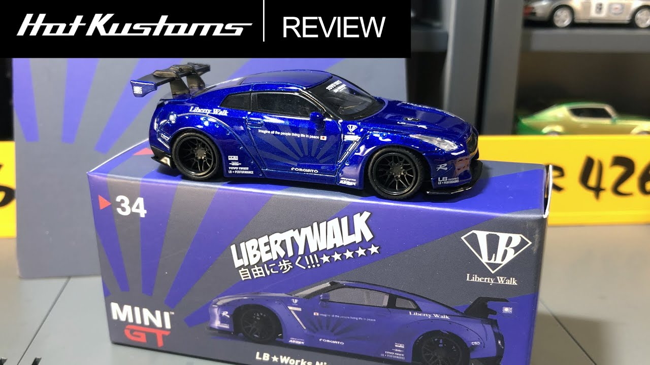 MINI GT 1//64 LIBERTY WALK Lamborghini Aventador Light Blue EXCLUSIVE LBWK TSM LB