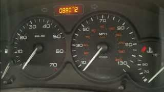 Citroen Berlingo / Peugeot Partner Facelift Oil Service Reset