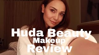 Huda Beauty Makeup Review Tutorial