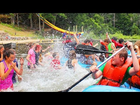 USA Summer Camp Introduction - Activities Montage