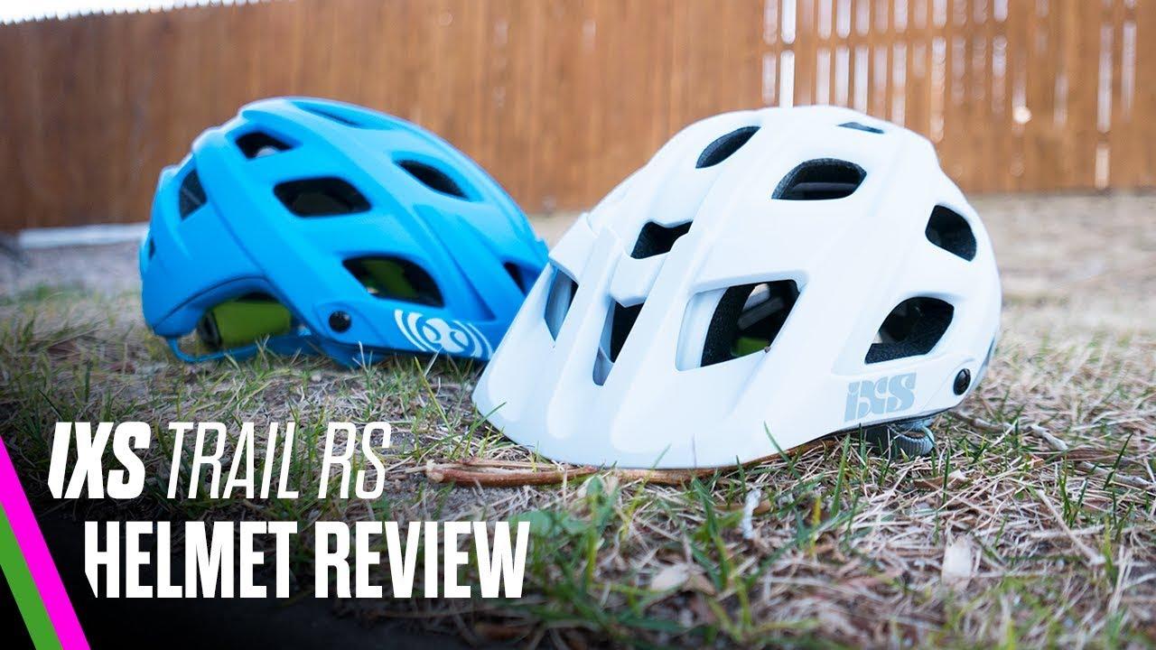 Ixs Trail Rs Helmet Review Enduro Helmet For Big Heads Youtube