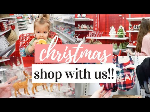 TARGET CHRISTMAS SHOP WITH ME 2019 | DECOR, GIFTS, DOLLAR SPOT + HAUL 🎄🎅🏼