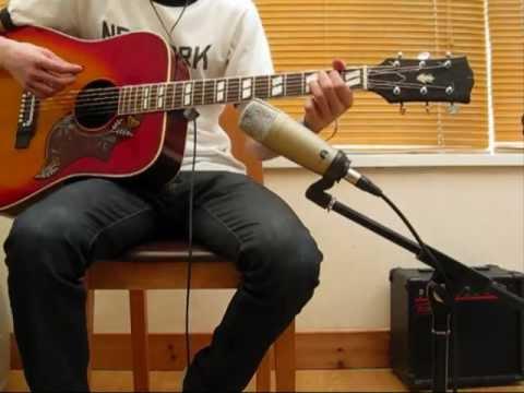 Dixon? rare 60s/70s acoustic hummingbird guitar SOLD