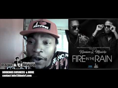 Masicka, Kranium   Fire in the Rain( 30 June 2017) Rawpa Crawpa Review