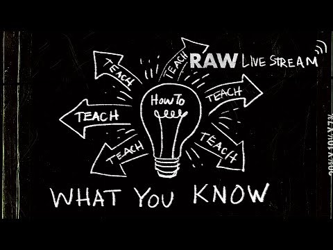 🔴 How To Teach What You Know