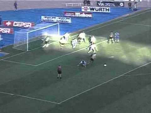 Gol Temporada 97/98 Espanyol Zaragoza Kily Gonzalez