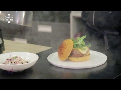 Recette  du CITT Burger et son coleslaw
