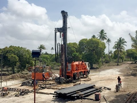 Dando Watertec 50 Drilling Rig, Tanzania