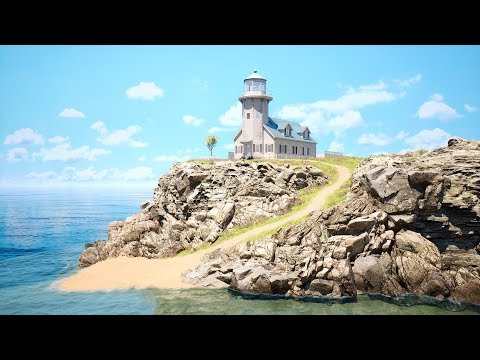 Lighthouse [ Speed Level Design / Unreal Engine 4 / Free Download ]