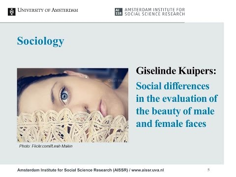 Giselinde Kuipers - Social differences in the evaluation of the beauty of male and female faces