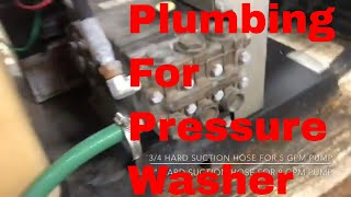 How To Plumb A Pressure Washer Rig | Truck Or Trailer
