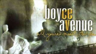 Watch Boyce Avenue All The While video