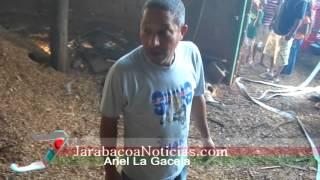 Taller de Ebanistería por poco se quema en la calle que conduce a Estancita, Jarabacoa