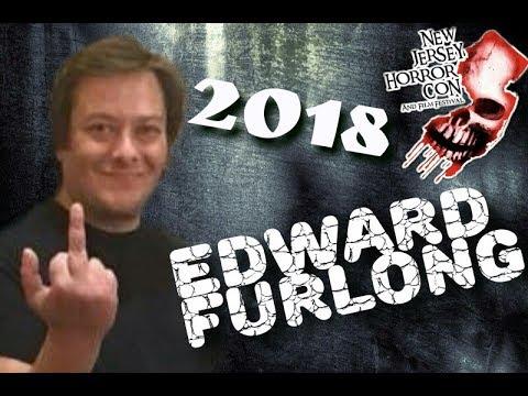 Edward Furlong 2018 and  nj horror con