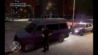 GTA IV Traffic Stop- Failure To Yield To Ambulance- Red Light Vilo.
