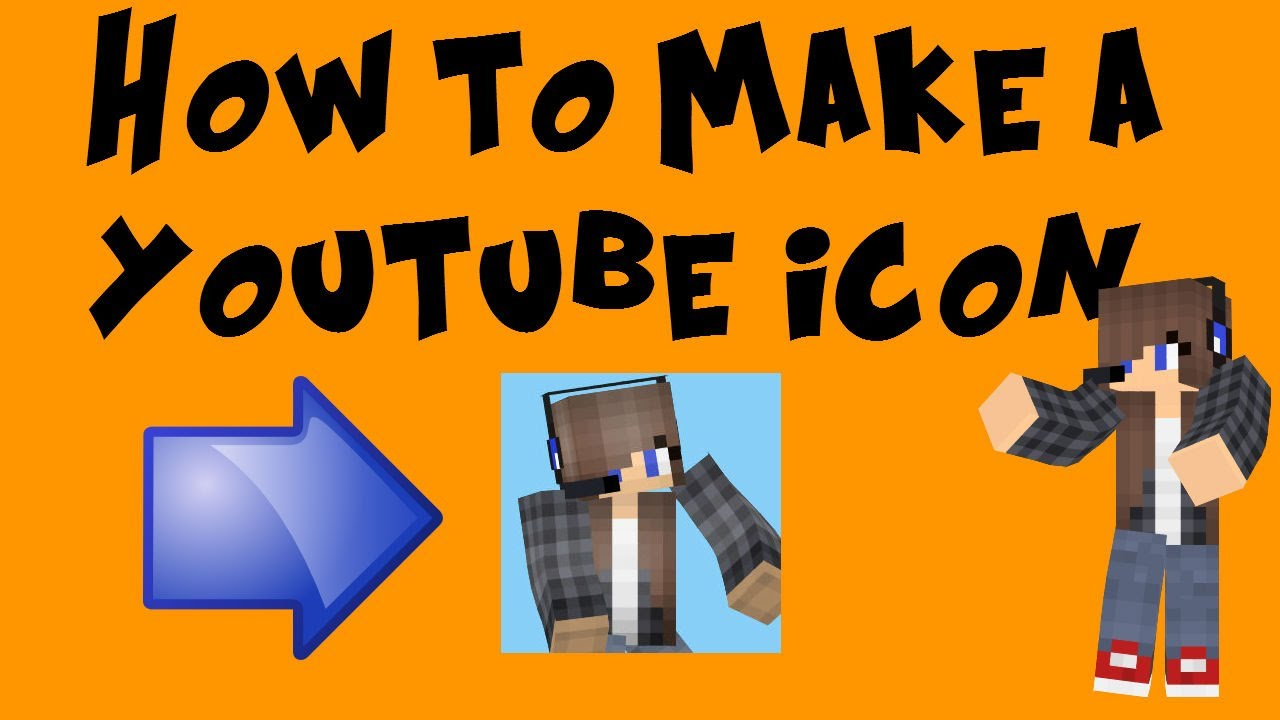 How to make a minecraft channel icon without photoshop for How to make logo online